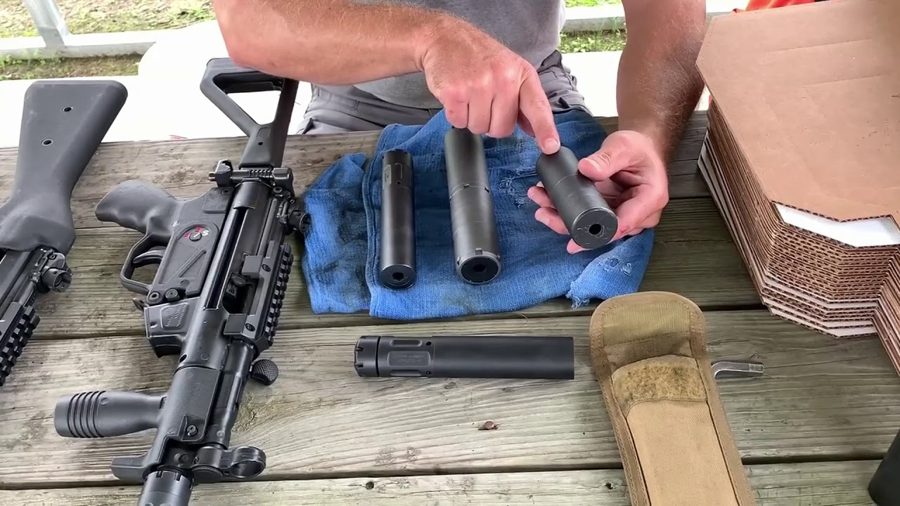 MP5 Suppressor Eval - One-minute clip