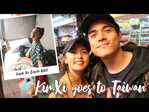 KimXi goes to Taiwan + Capsule Hotel Experience Review (Is it a YES or a NO?)