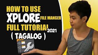 Xplore File Manager Tutorial (Tagalog) ANDROID screenshot 4