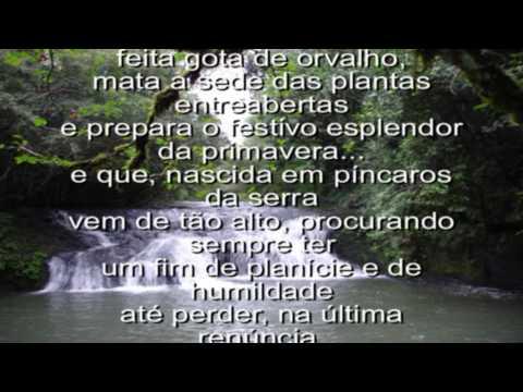 Poema da Água - Raul Machado