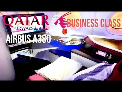Qatar Airways Airbus A380 Business Class Doha to Bangkok