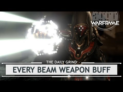Warframe: Every Buffed Beam Weapon Playtested [thedailygrind]