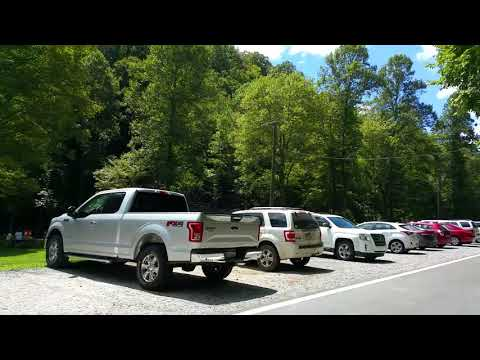 Chief Logan State Park drive-through with campground