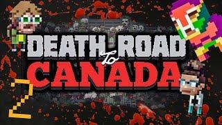 Ermordet von einem Cartoon? - Death Road To Canada Co-op [Nintendo Switch] (EP 2) | Lustiges Lets Play