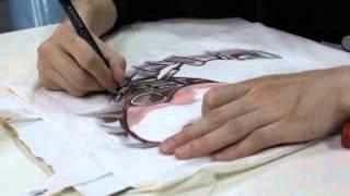 Рисуем по ткани маркерами!(26 мая на дизайн-заводе
