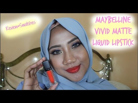 maybelline-vivid-matte-liquid-lipstick-|-review-&-swatches-|-bahasa-indonesia