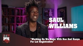 Saul Williams - Working On We Major With Nas And Kanye For Late Registration (247HH Exclusive)