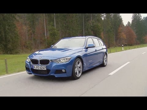 Bmw 330d Touring Station Wagon F31 Driving Video