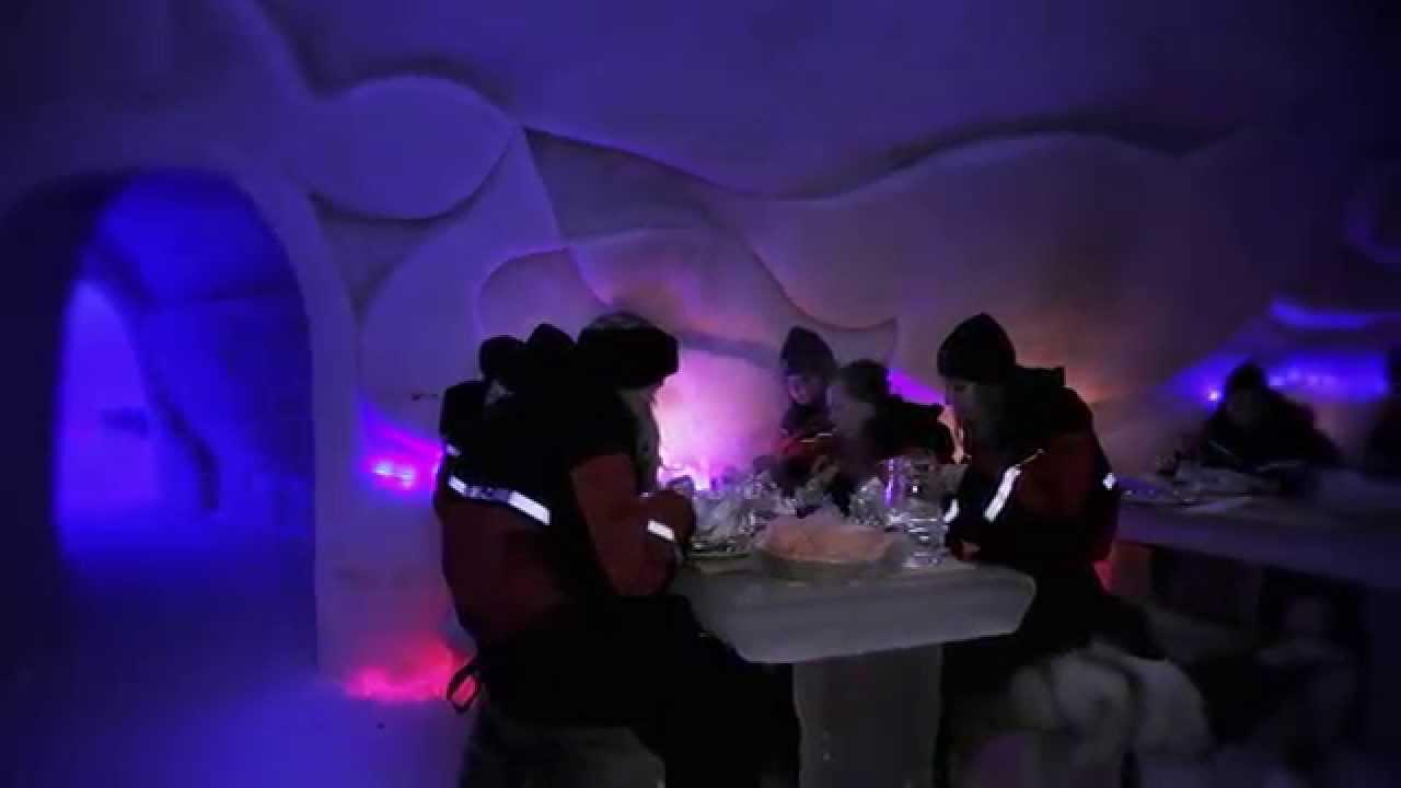 Arctic SnowHotel U0026 Glass Igloos In Rovaniemi In Finnish Lapland   Finland    YouTube