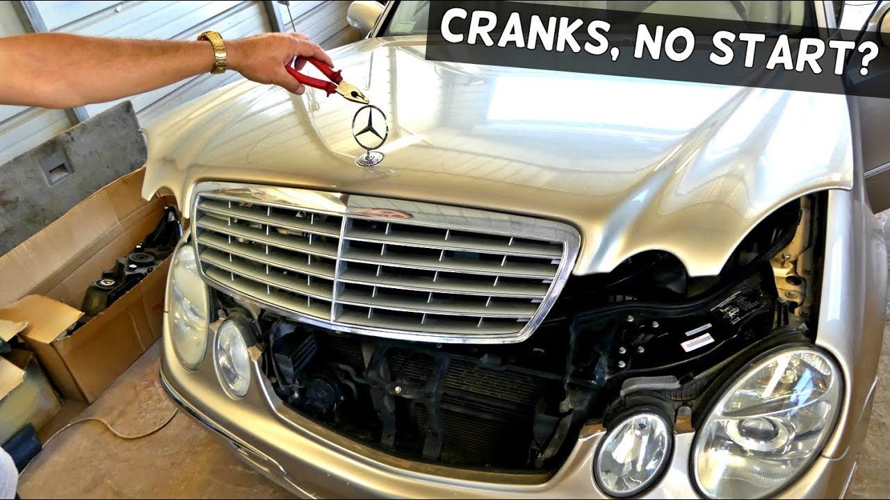 hight resolution of mercedes cranks but does not start diagnostics