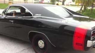 1969 Dodge Charger 440 RT triple black Rare