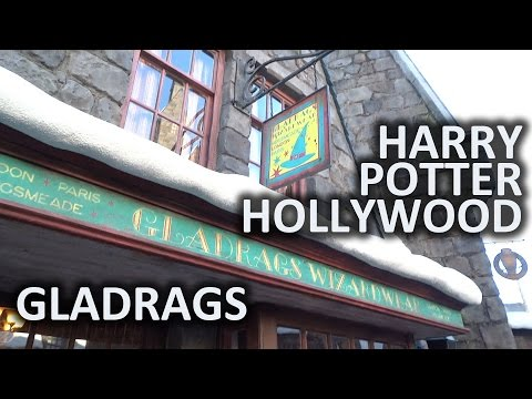 Gladrags Wizard Wear shop at Universal Studios Hollywood's Wizarding World of Harry Potter