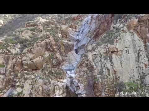 Primer vuelo de drone en Agua Caliente, Valle de Guadalupe Baja California.