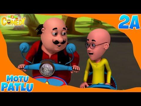 Motu Patlu 2019 | Cartoon in Hindi | Scooter Race |3D Animated Cartoon for Kids thumbnail