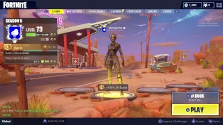 Fortnite new Game mode come watch funny moments.. I dont own any of the rights to the music playing