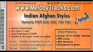 Indian Afghan Styles for Yamaha PSR 340 540 530 630 640 730 740 - www.MelodyTracks.com