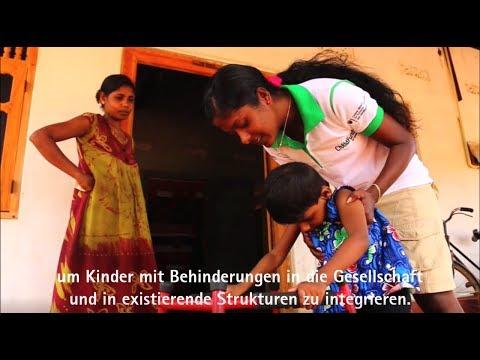 Hilfe Für Kinder Mit Behinderungen In Sri Lanka