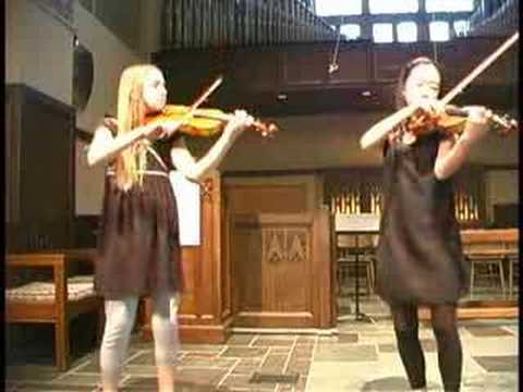 Bach: Concerto in D Minor for 2 violins, 1st mvt.