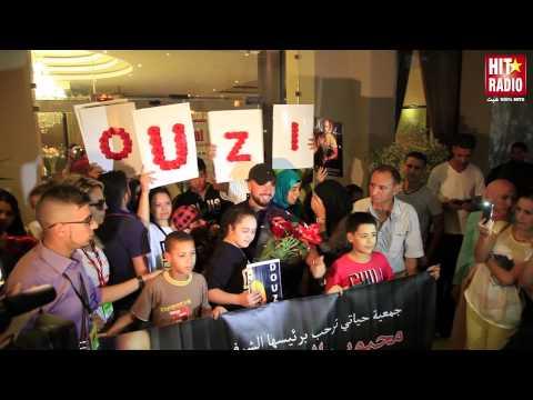 RDV avec le show de Douzi au Festival Rai d'Oujda 2014 sur HIT RADIO