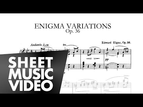 Enigma Variations - Edward Elgar - Piano