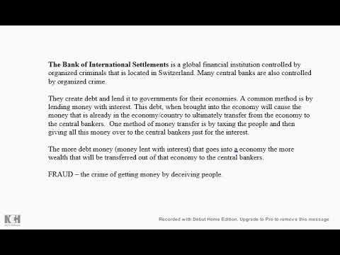 Bank of International Settlements and Central Bank Fraud