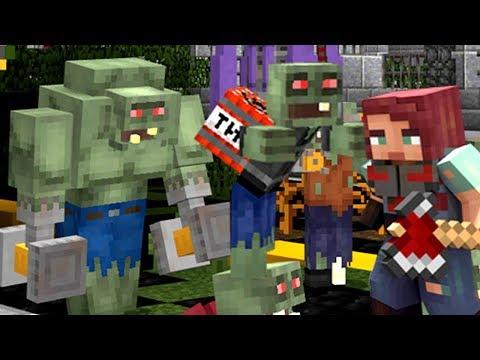 ЗОМБИ Апокалипсис в Майнкрафт КокаПлей Выживание на Серевере Реалмс - Minecraft Realms