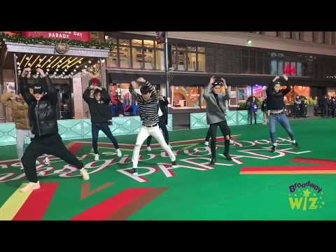 NCT 127 Rehearse For The Macy's Parade