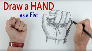 How to Draw a Hand: PART 3 Fist