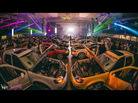 Vários Carros Tocando Na Festa da Abelbeetle 14 Anos (HD)
