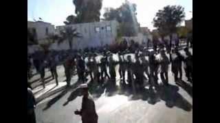 هجوم قوات مكافحة الشغب على الاعتصام السلمي في غرداية