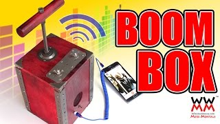 BOOM Box Amplifier! Explosive Sound For Your Tunes.