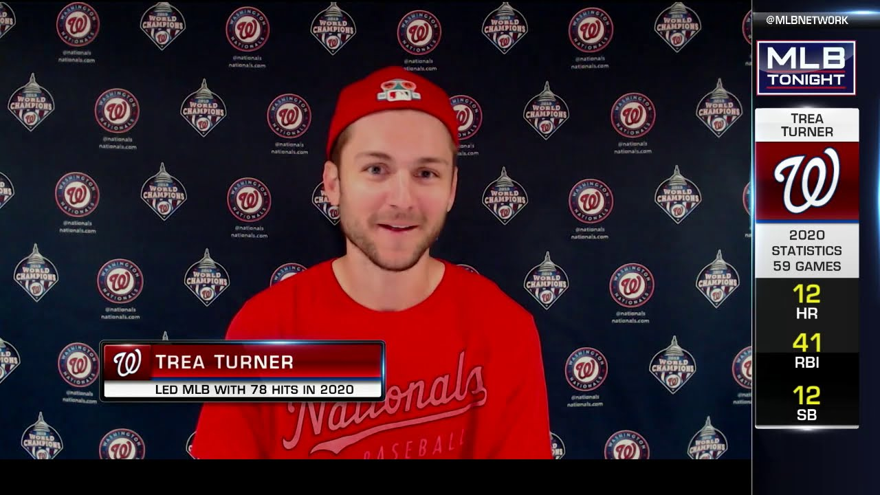 Nationals shortstop and trade candidate Trea Turner leaves ...