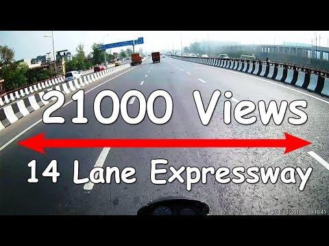14 Lane Delhi Meerut Expressway Phase 1 | Lets Count the Lanes