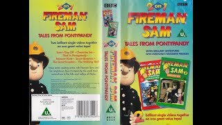Fireman Sam 2 on 1: Tales from Pontypandy (1998 UK VHS)