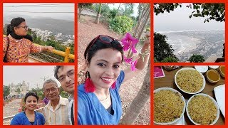 Why Vizag Again | Kailashgiri | Vizag Food | Family Outing | Glam With Me