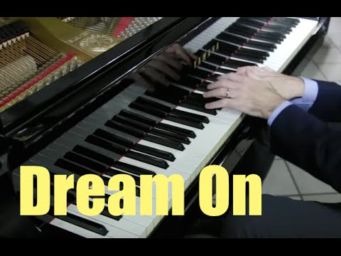 Aerosmith - Dream On - Piano Cover play by ear by Fabrizio Spaggiari Power Rock Ballad