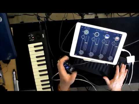 How To Connect 5 MIDI Keyboards to Your iPad At The Same Time - Tutorial