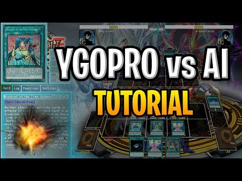 How To Play YGOPRO Against An AI - Single Player Mode - YouTube