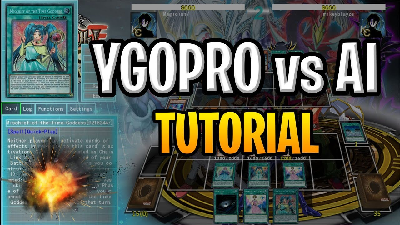 How To Play YGOPRO Against An AI - Single Player Mode