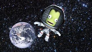 Amy Tries to Kerbal a Basic Orbital Spaceflight