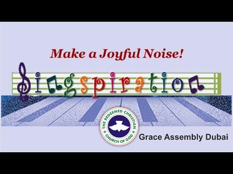 RCCG Grace Assembly Dubai SINGSPIRATION_ [Complete Video]
