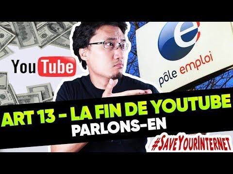 ARTICLE 13 OU LA FIN DE YOUTUBE ? - Parlons-en