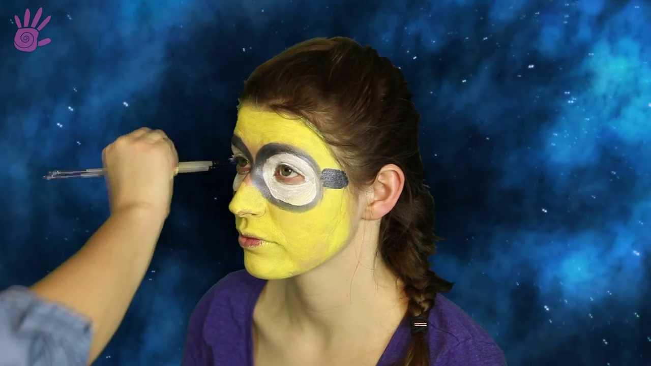 Malowanie Buziek Malowanie Twarzy 11 Minionek Youtube