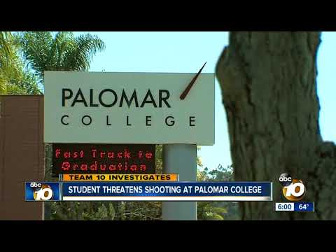 Student threatens shooting at Palomar College
