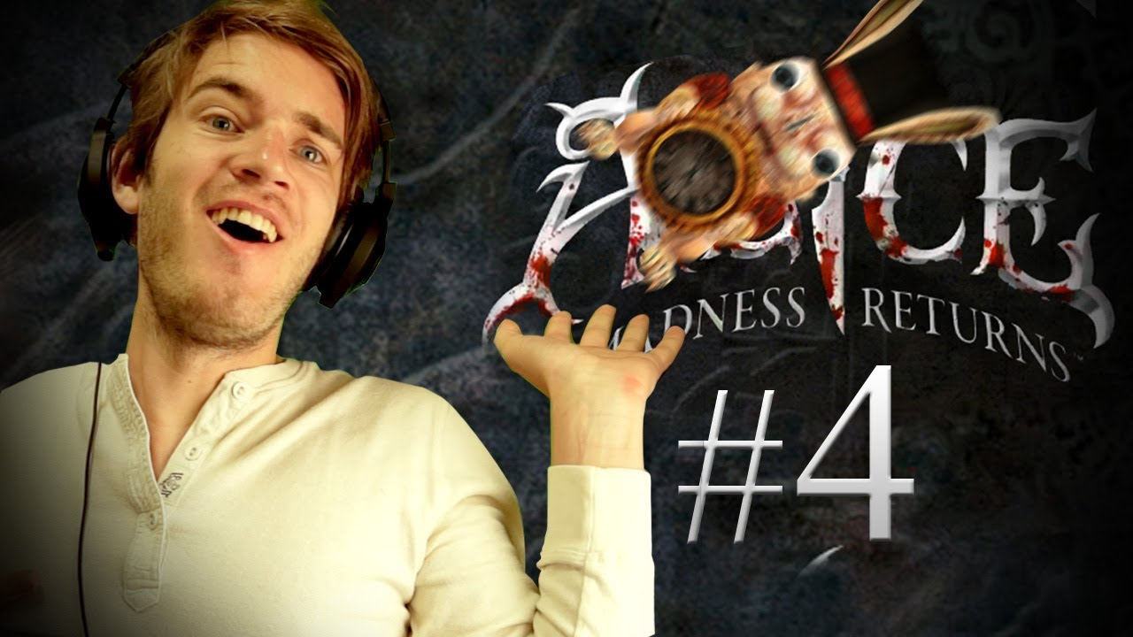 Pewdiepie plays Alice: The Madness Returns - Part 4