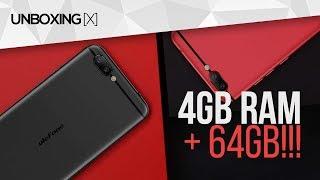 4GB+64GB por R$795! Celular no nível de iPhone - Unboxing Ulefone Gemini Pro PTBR