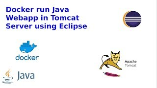 Docker Run Java war in Tomcat with Eclipse