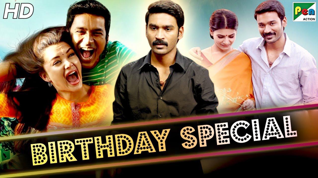 Birthday Special | Dhanush Best Of Movie Scenes | Thanga Magan, Dum Lagade Aaj