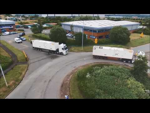 Energyst CAT Rental Power │ Transport of 2000kVA generators from Energyst UK Birmingham depot