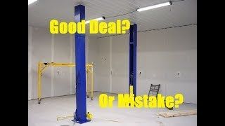 Just Got My China Made Car Hoist My First Thoughts Review!